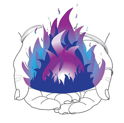 Hands and Flames only - web solid white circle background.jpg