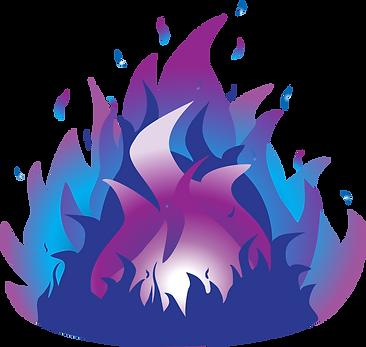 Illumination flame - web transparent bac