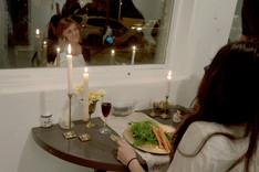Fine Dining (inside, night)