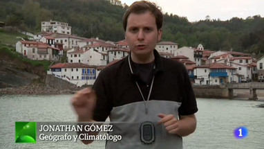 La fuerza de las olas en Tazones - Aquí la tierra RTVE