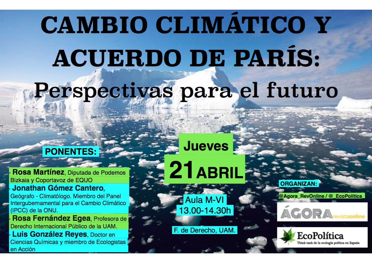 Cartel Cambio Climatico_ Imagen