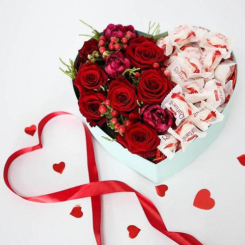 Сердце из роз и Раффаэло