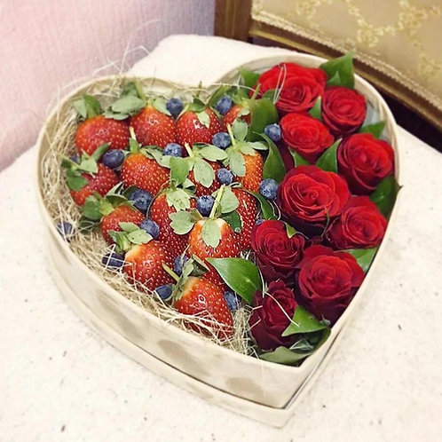 Клубничное сердце №15