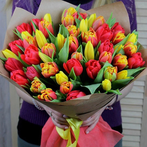 Букет тюльпанов MIX