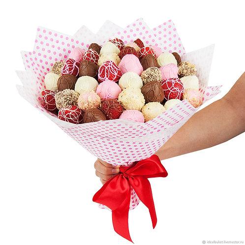 Букет клубники в шоколаде №8