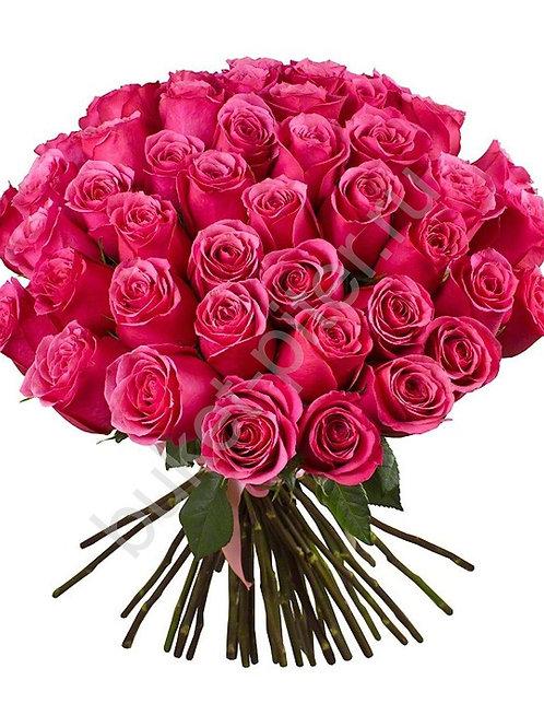 Букет из 35 роз Премиум 50 см.