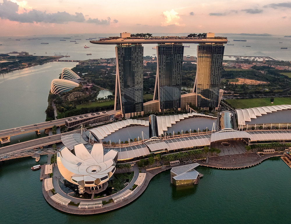 Singapore's construction industry has been growing at 3% since 2014. According to the data provided by building & Construction Authority, Singapore's construction demand in 2014 was between S $31 billion and S $38 billion (about US $24.8 billion to US $30.4 billion).