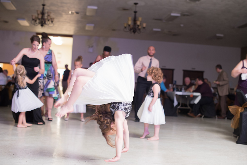 This little girl had some mooooves! She is just about to turn 6 and could do back hand springs likes no bodies business. I was so impressed!