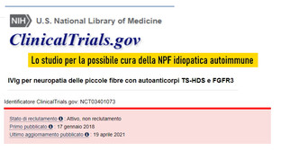 Immunoglobuline per NPF idiopatica Immunomediata da Anticorpi anti TS-HDS e FGFR-3:lo studio
