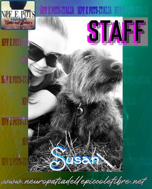 Staff - Susan e la passione per lo studio