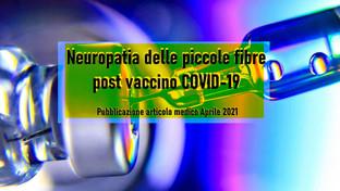Neuropatia delle piccole fibre post vaccino COVID-19