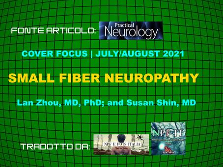 Neuropatia delle piccole fibre- inserto di practical neurology- Agosto2021