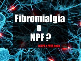 Fibromialgia o Neuropatia delle Piccole Fibre?
