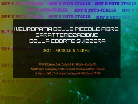 Neuropatia delle piccole fibre: caratterizzazione della coorte svizzera