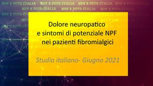 Dolore neuropatico e sintomi di potenziale NPF nei pazienti fibromialgici