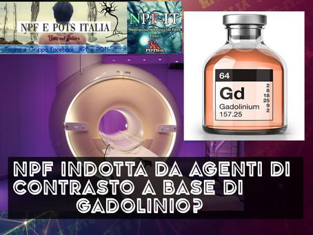 NPF indotta da agenti di contrasto a base di gadolinio?