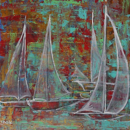 Boat Painting - Sailing Boats