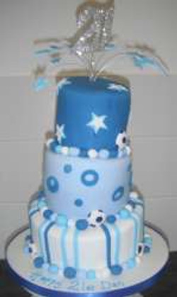 3 tier Blue