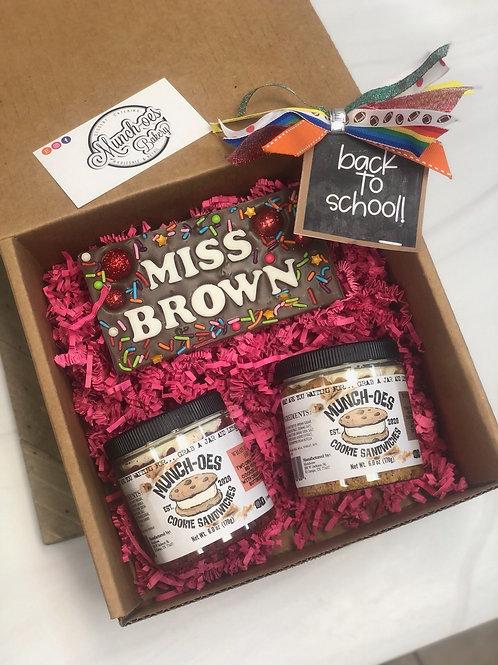Medium School Jar Gift Box