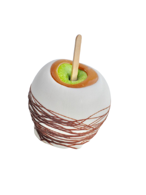 White Chocolate Caramel Gourmet Apple