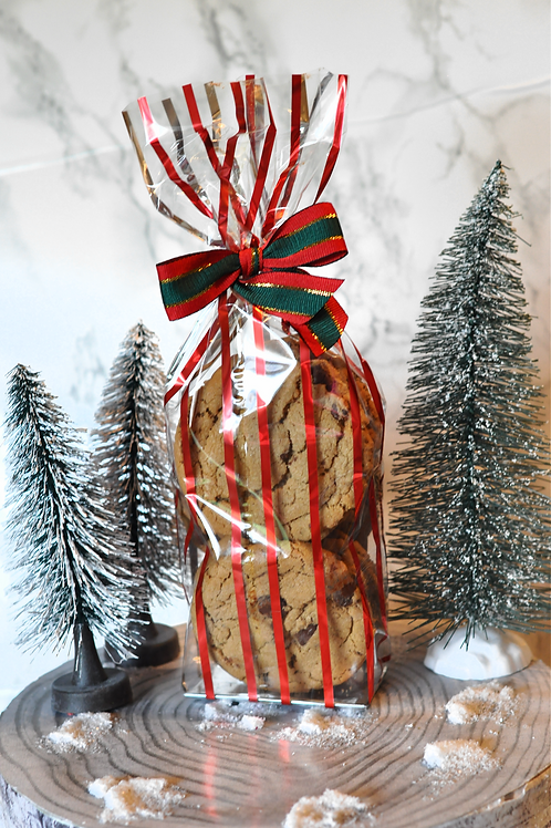 6 Cookie Holiday Treat Bag