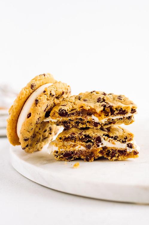 Salted Caramel MUNCH-O Cookie Sandwich
