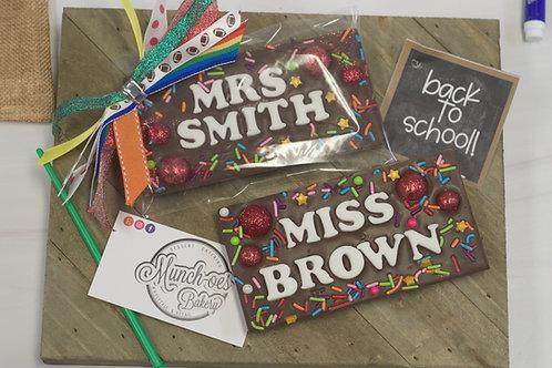 Personalized Chocolate Bar