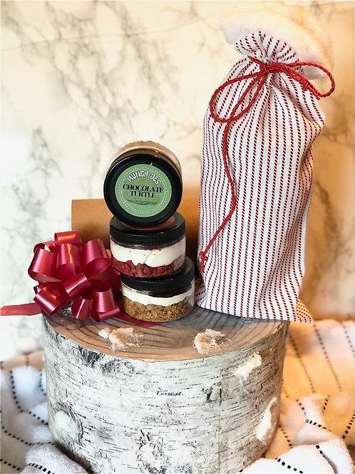 Holiday Triple Mini Munch-O In a Jar