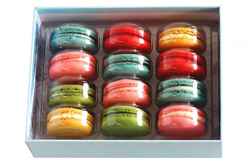 Assortment Macaron Dozen Box