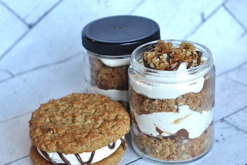 Peanut Butter Oatmeal MUNCH-O In a Jar