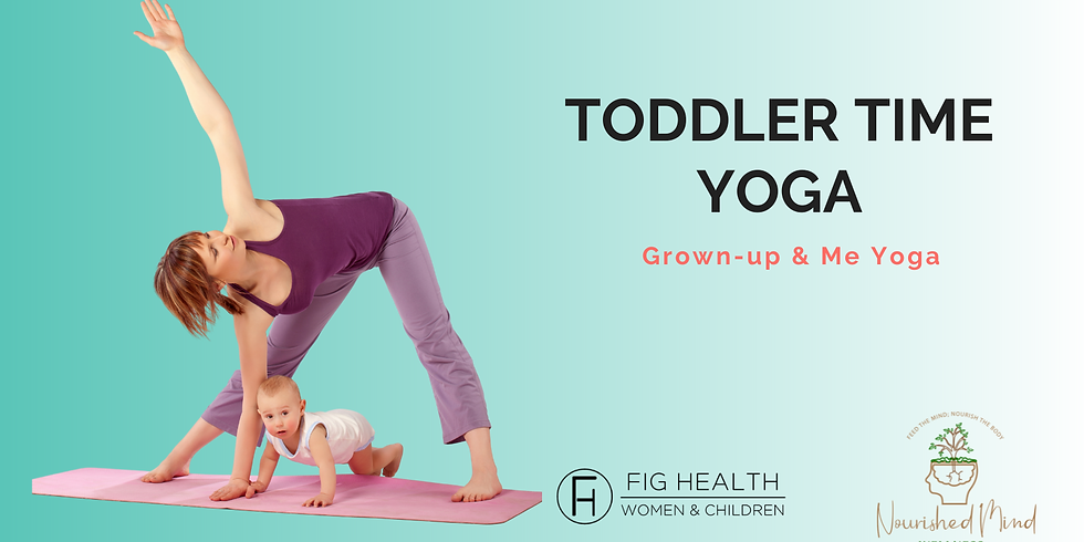 Toddler Time Yoga: Mommy and Me