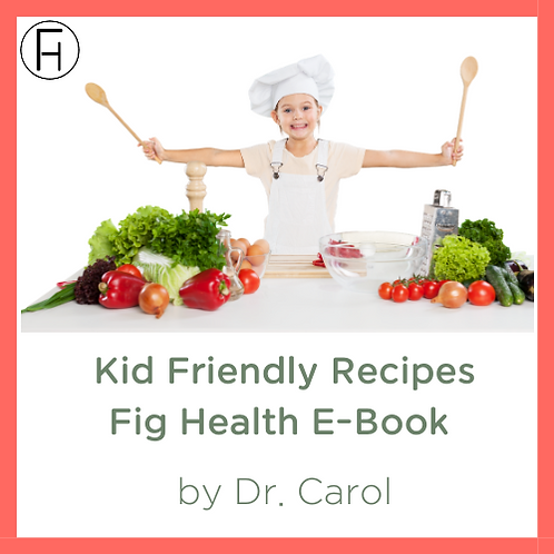 Kid Friendly Recipes E-Book