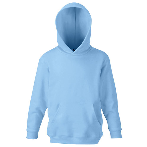Storrington Primary Sky Blue PE Hoodie (Plain)