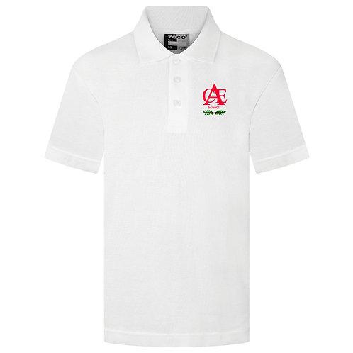 Ashington White Polo Shirt
