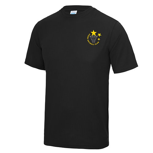 Child Stars Black Training Top