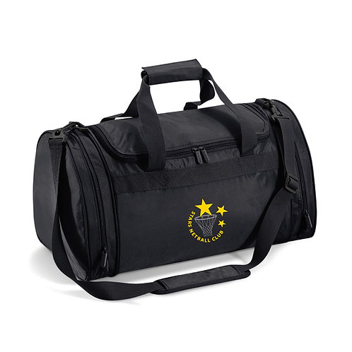 Stars Black Sports Holdall