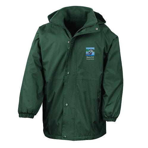 Bury C of E Primary School Waterproof Reversible StormDri Jacket
