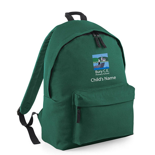 Bury CE Primary School Rucksack