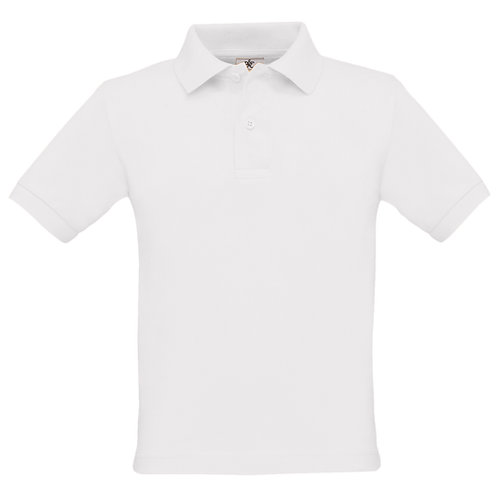 Bury 100% Cotton Eco Friendly White Polo Shirt