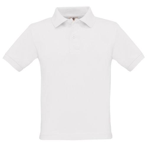 Bury C of E Primary School 100% Cotton Eco Friendly White Polo Shirt