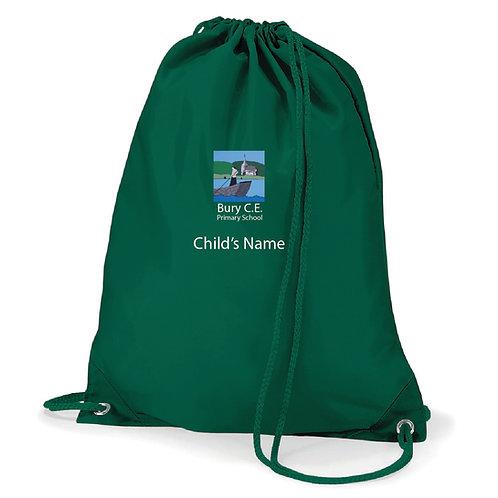 Bury C of E Primary School PE Bag