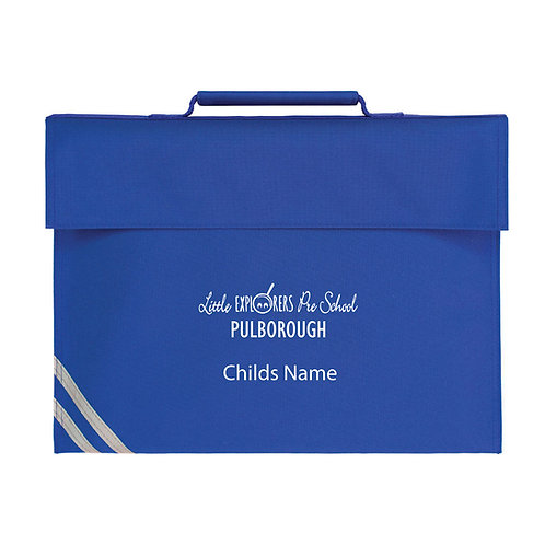 Little Explorers Pulborough Bright Royal Bookbag