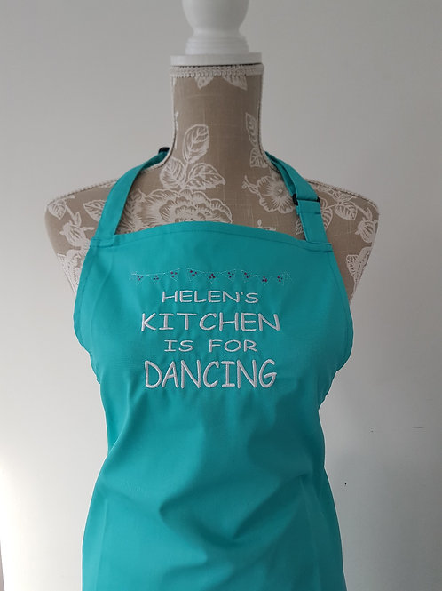 Personalised Dancing Kitchen Apron