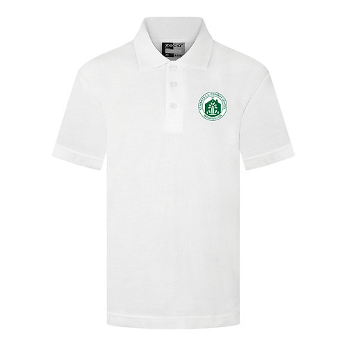 St Mary's Washington White Polo Shirt