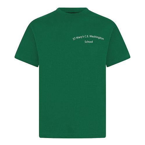 St Mary's Washington Green PE T-Shirt