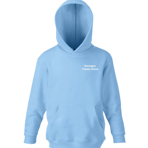 Storrington Primary Sky Blue PE Hoodie (Embroidered Writing)