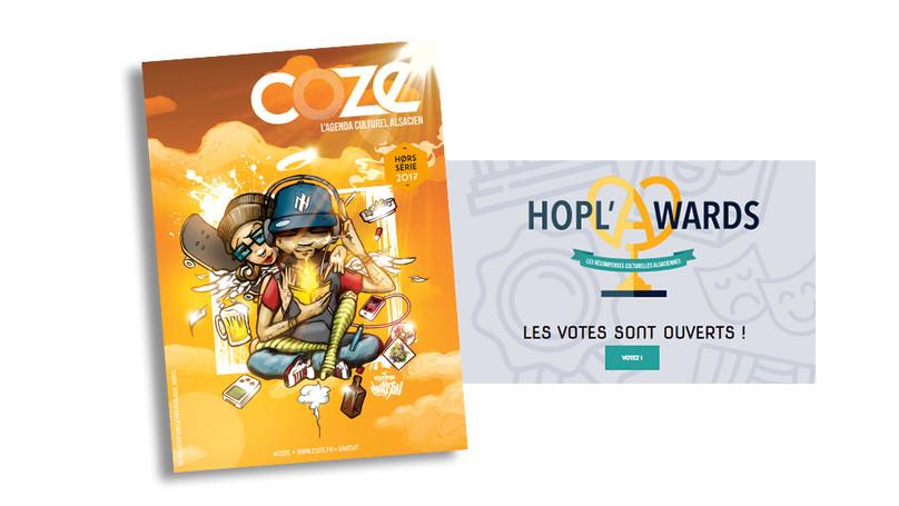 HOPL'AWARDS 2017 : VOTES OUVERTS !