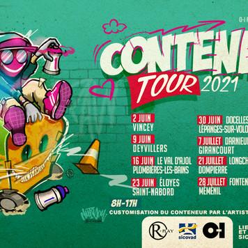 CONTENEURS TOUR 2021
