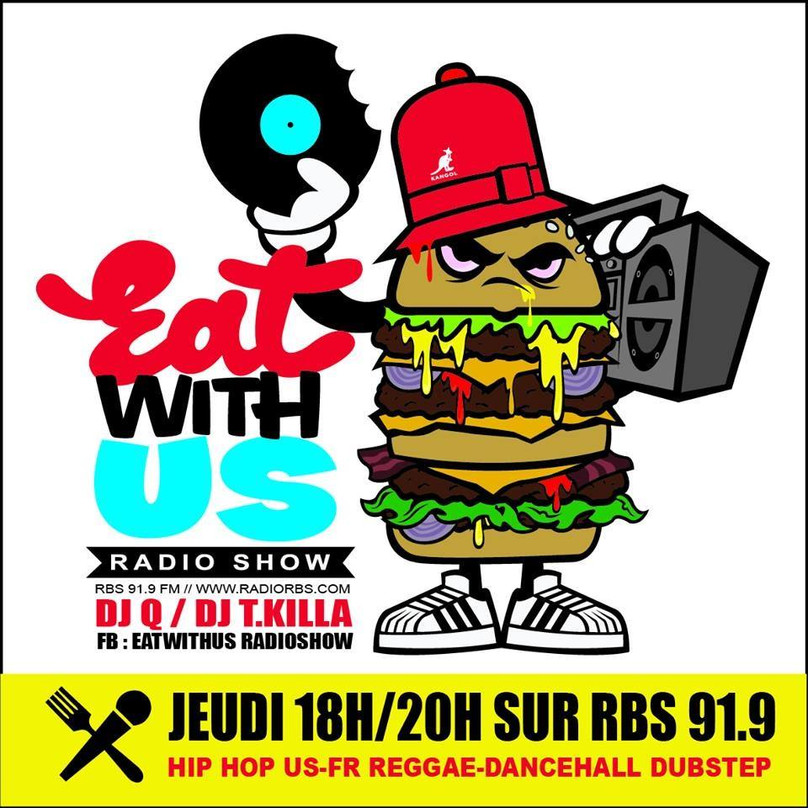 RDV AVEC EAT WITH US SUR RBS 91.9FM