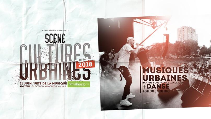 SCENE CULTURES URBAINES 2018